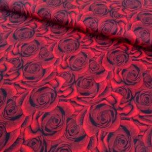 Teplákovina Červená růže