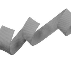 Hladká pruženka 20 mm – ŠEDÁ